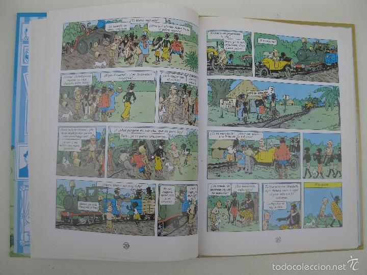 Cómics: LAS AVENTURAS DE TINTÍN - TINTÍN EN EL CONGO - HERGÉ - CASTERMAN - AÑO 2001. - Foto 2 - 59258935