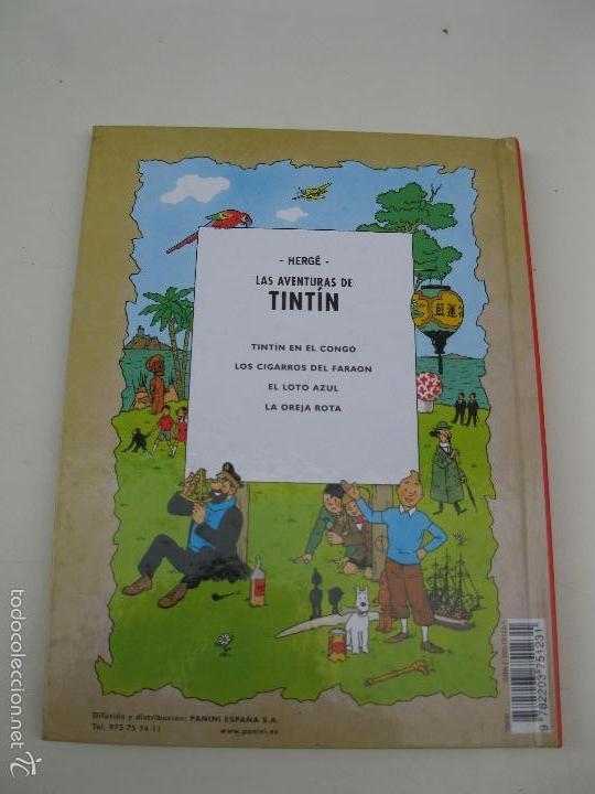 Cómics: LAS AVENTURAS DE TINTÍN - TINTÍN EN EL CONGO - HERGÉ - CASTERMAN - AÑO 2001. - Foto 3 - 59258935