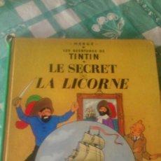 Cómics: TINTIN LE SECRET DE LA LICORNE 1974 ,CASTERMAN. Lote 59671671