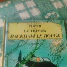 Cómics: TINTIN LE TRÉSOR DE RACKHAM LE ROUGE, CASTERMAN .1973. Lote 59671787