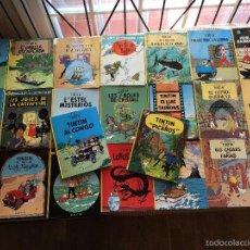 Cómics: AVENTURES TINTIN LOTE 23 COMICS TAPA DURA CATALAN PRIMERES EDICIONS (VER DESCRIPCION) CATALA (COI6). Lote 59989751