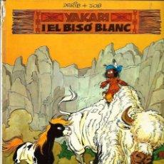 Cómics: YAKARI Nº 2 - YAKARI I EL BISO BLANC - ED. JUVENTUD 1979, 1ª EDICIO - TAPA DURA - VEGEU DESCRIPCIO. Lote 60087015