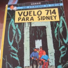 Cómics: LIBRO TINTIN VUELO 714- AÑO 1983. Lote 60163915