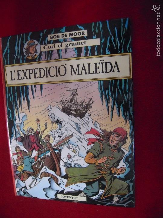 CORI EL GRUMET 1 - L´EXPEDICIO MALEIDA - BOB DE MOOR - CARTONE - EN CATALAN (Tebeos y Comics - Juventud - Cori el Grumete)