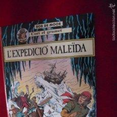 Cómics: CORI EL GRUMET 1 - L´EXPEDICIO MALEIDA - BOB DE MOOR - CARTONE - EN CATALAN. Lote 60510043