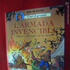 Comics : CORI EL GRUMET 2 - L´ARMADA INVENCIBLE 1 ELS ESPIES DE LA REINA - BOB DE MOOR - CARTONE - EN CATALAN. Lote 60510195