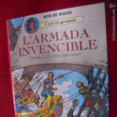 Comics : CORI EL GRUMET 3 - L´ARMADA INVENCIBLE 2 EL DRAC DELS MARS - BOB DE MOOR - CARTONE - EN CATALAN. Lote 60510247