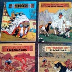 Cómics: 4 PRIMEROS EJEMPLARES DE YAKARI, PRIMERA EDICIÓN, EN CATALÀ, EDITORIAL JUVENTUD (1979-1980). Lote 60727743