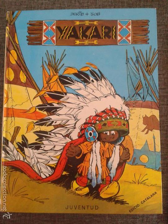 Cómics: 4 PRIMEROS EJEMPLARES DE YAKARI, PRIMERA EDICIÓN, EN CATALÀ, EDITORIAL JUVENTUD (1979-1980) - Foto 2 - 60727743