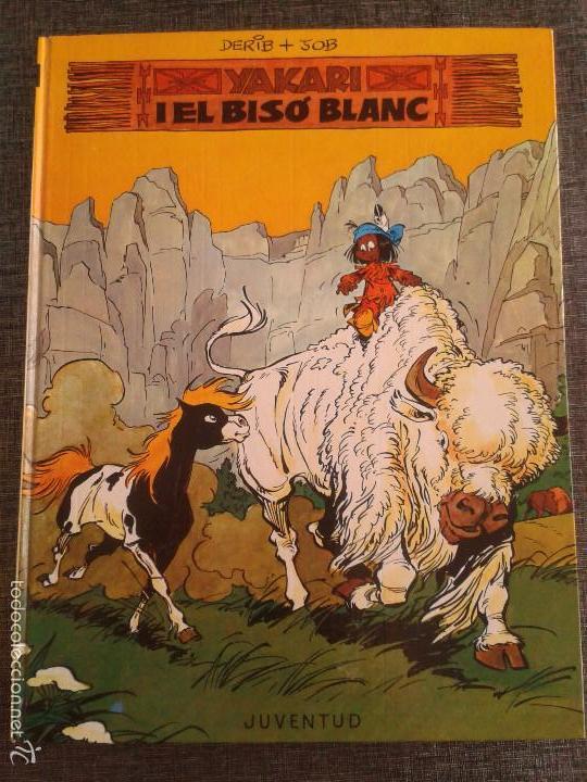 Cómics: 4 PRIMEROS EJEMPLARES DE YAKARI, PRIMERA EDICIÓN, EN CATALÀ, EDITORIAL JUVENTUD (1979-1980) - Foto 3 - 60727743