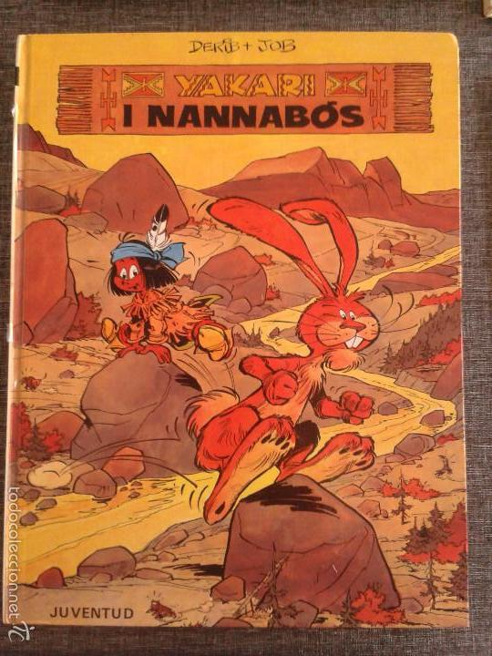 Cómics: 4 PRIMEROS EJEMPLARES DE YAKARI, PRIMERA EDICIÓN, EN CATALÀ, EDITORIAL JUVENTUD (1979-1980) - Foto 4 - 60727743