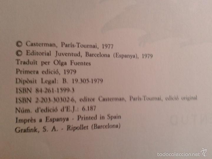 Cómics: 4 PRIMEROS EJEMPLARES DE YAKARI, PRIMERA EDICIÓN, EN CATALÀ, EDITORIAL JUVENTUD (1979-1980) - Foto 7 - 60727743