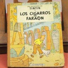 Cómics: 7971 - TINTÍN LOS CIGARROS DEL FARAON. 1ª EDICIÓN. LOMO MARRÓN. HERGÉ. EDIT. JUVENTUD. 1964.. Lote 60857483
