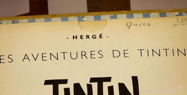 Cómics: 7972 - TINTÍN AU CONGO. LOMO ROJO. HERGÉ. EDIT. CASTERMAN. 1947. - Foto 3 - 213444176