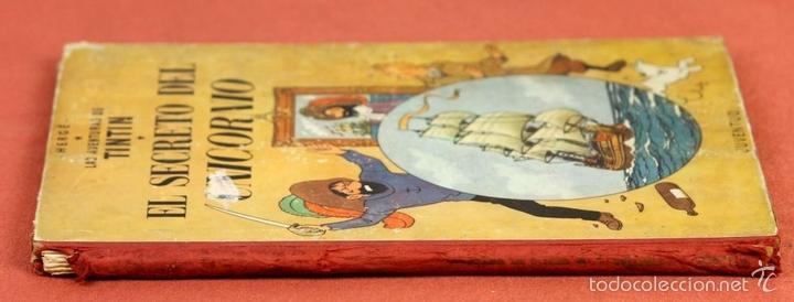 Cómics: 7975 - TINTÍN EL SECRETO DEL UNICORNIO.1ª EDICIÓN. LOMO ROJO. HERGÉ. EDIT. JUVENTUD. 1959. - Foto 13 - 60904687