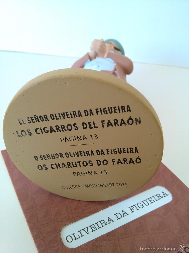 Cómics: FIGURAS DE TINTIN - EL SEÑOR OLIVEIRA DA FIGUEIRA - MOULINSART / ALTAYA - Foto 6 - 61160583