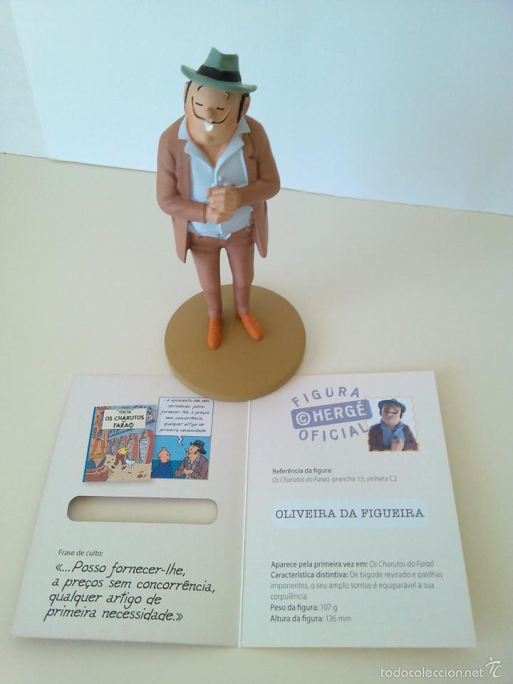 Cómics: FIGURAS DE TINTIN - EL SEÑOR OLIVEIRA DA FIGUEIRA - MOULINSART / ALTAYA - Foto 8 - 61160583