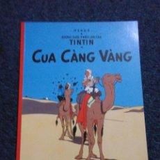 Fumetti: TINTIN IDIOMAS - EL CANGREJO DE LAS PINZAS DE ORO - CUA CANG VANG - VIETNAMITA - IDIOMA. Lote 61291883