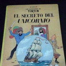 Cómics: COMIC JUVENTUD TINTIN SECRETO UNICORNIO HERGE ÑD . Lote 61487747