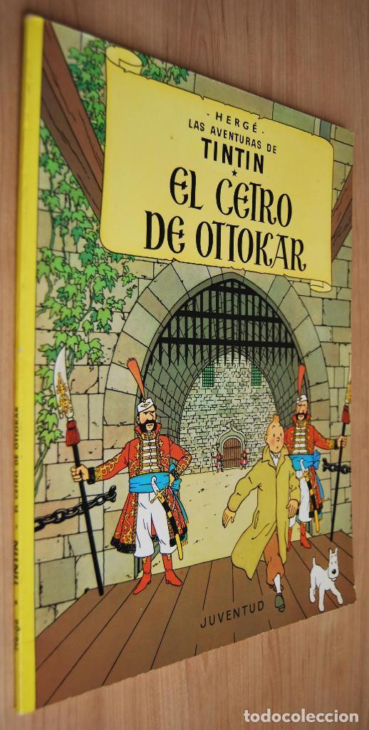 TINTÍN - EL CETRO DE OTTOKAR - JUVENTUD -14ª EDICIÓN 1991 (Tebeos y Comics - Juventud - Tintín)