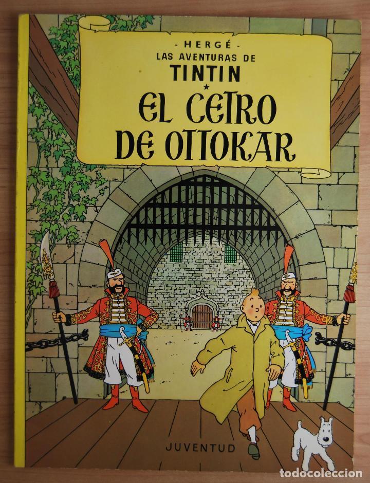 Cómics: Tintín - El Cetro de Ottokar - Juventud -14ª edición 1991 - Foto 2 - 62171200