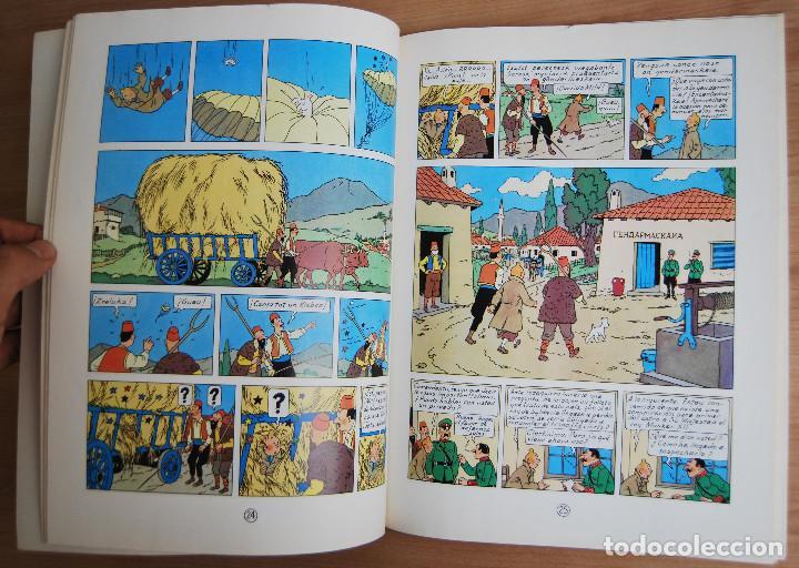 Cómics: Tintín - El Cetro de Ottokar - Juventud -14ª edición 1991 - Foto 3 - 62171200