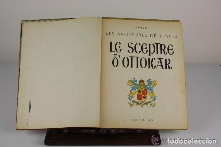6047- LE SCEPTRE D'OTTOKAR. TINTIN. HERGE. EDIT. CASTERMAN. 1947. (Tebeos y Comics - Juventud - Tintín)