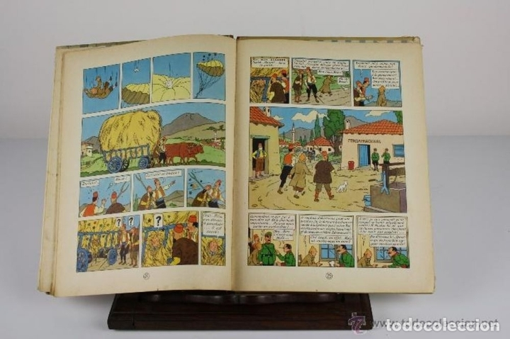 Cómics: 6047- LE SCEPTRE D'OTTOKAR. TINTIN. HERGE. EDIT. CASTERMAN. 1947. - Foto 3 - 62220582