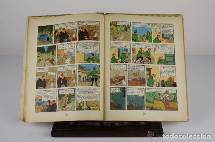 Cómics: 6047- LE SCEPTRE D'OTTOKAR. TINTIN. HERGE. EDIT. CASTERMAN. 1947. - Foto 4 - 62220582