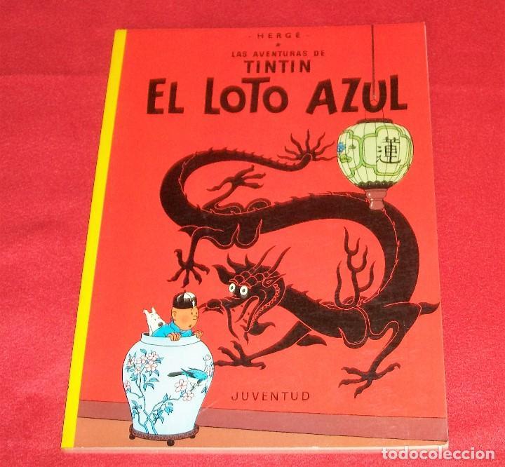 TINTIN, EL LOTO AZUL (Tebeos y Comics - Juventud - Tintín)