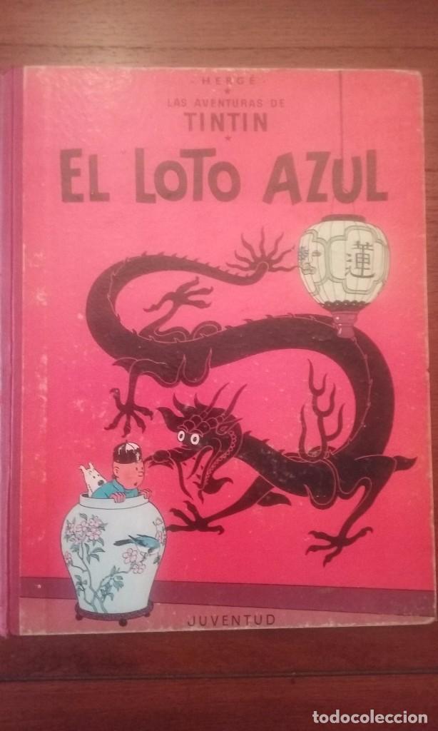 EL LOTO AZUL.TINTIN (Tebeos y Comics - Juventud - Tintín)