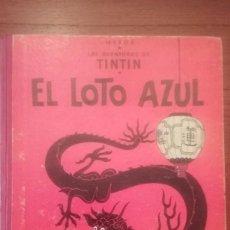Cómics: EL LOTO AZUL.TINTIN. Lote 63335432
