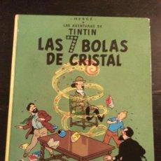 Cómics: LAS AVENTURAS DE TINTIN. LAS 7 BOLAS DE CRISTAL. Lote 63357672