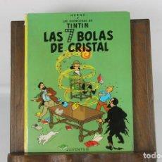 Cómics: 5246- LAS 7 BOLAS DE CRISTAL. HERGE. EDIT. JUVENTUD. QUINTA EDICION. 1978.. Lote 45460008