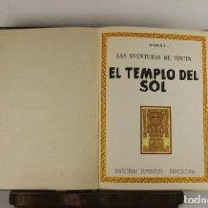 Cómics: 5250- EL TEMPLO DEL SOL. HERGE. EDIT. JUVENTUD. SEGUNDA EDICION. 1961.. Lote 45460429
