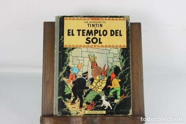 Cómics: 5250- EL TEMPLO DEL SOL. HERGE. EDIT. JUVENTUD. SEGUNDA EDICION. 1961. - Foto 2 - 45460429