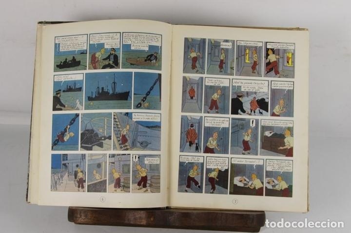 Cómics: 5250- EL TEMPLO DEL SOL. HERGE. EDIT. JUVENTUD. SEGUNDA EDICION. 1961. - Foto 3 - 45460429