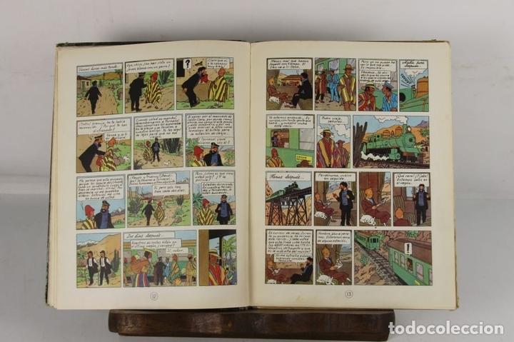 Cómics: 5250- EL TEMPLO DEL SOL. HERGE. EDIT. JUVENTUD. SEGUNDA EDICION. 1961. - Foto 4 - 45460429