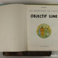 Cómics: 5251- OBJECTIF LUNE. HERGE. EDIT. CASTERMAN. PRIMERA EDICION EN FRANCES. 1953.. Lote 57609777