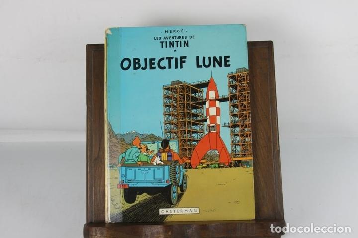 Cómics: 5251- OBJECTIF LUNE. HERGE. EDIT. CASTERMAN. PRIMERA EDICION EN FRANCES. 1953. - Foto 3 - 57609777