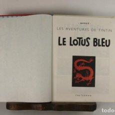 Cómics - 5257 - LE LOTUS BLEU. HERGE. EDIT. CASTERMAN. PRIMERA EDICION. 1974. - 57609938