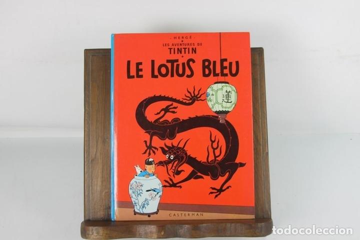 Cómics: 5257 - LE LOTUS BLEU. HERGE. EDIT. CASTERMAN. PRIMERA EDICION. 1974. - Foto 2 - 57609938