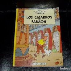 Cómics: TINTÍN EN LOS CIGARROS DEL FARAÓN. Lote 64321099