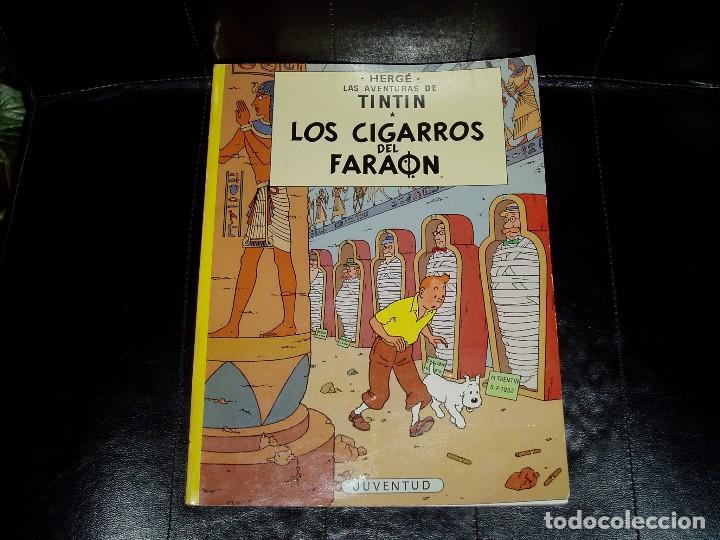 Cómics: Tintín en los Cigarros del Faraón - Foto 2 - 64321099
