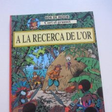 Comics : CORI EL GRUMETE BOB DE MOOR A LA RECERCA DE L ´OR 1ª EDICION JOVENTUT CÀTALA ETX. Lote 64842119