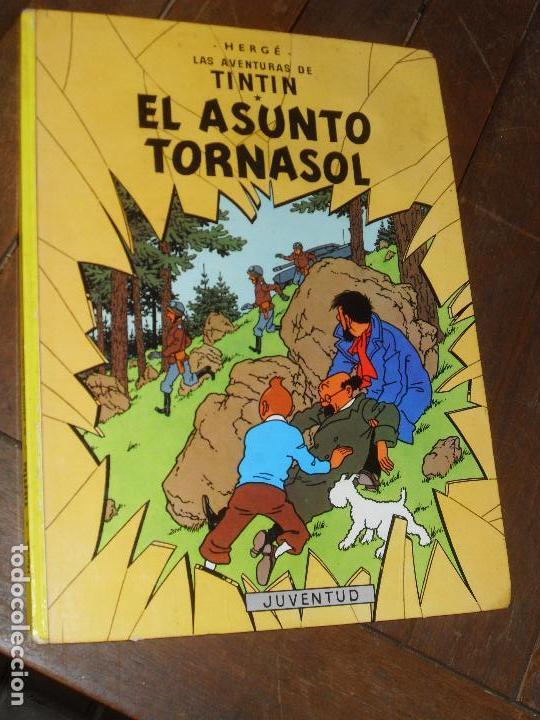 TINTIN. ASUNTO TORNASOL. 11º EDICION. EDITORIAL JUVENTUD HERGÉ. 1988. (Tebeos y Comics - Juventud - Tintín)