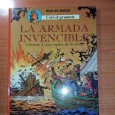 Cómics: CORI EL GRUMETE LA ARMADA INVENCIBLE Nº 1 LOS ESPIAS DE LA REINA EDITORIAL JUVENTUD 1989 TAPA DURA . Lote 65976070