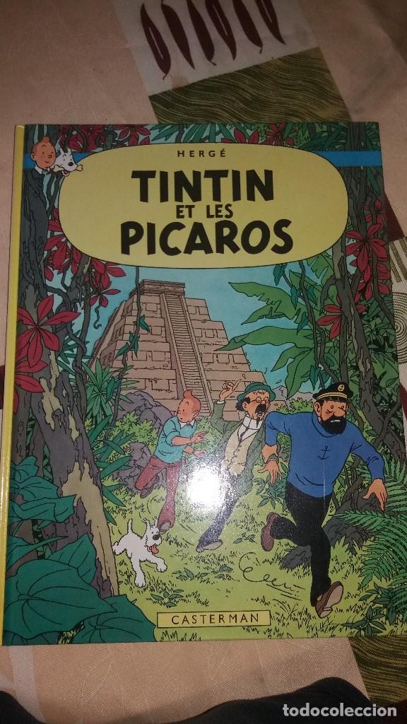 TINTIN ET LES PICAROS,CASTERMAN - HERGÉ 1981.FRANCES (Tebeos y Comics - Juventud - Tintín)