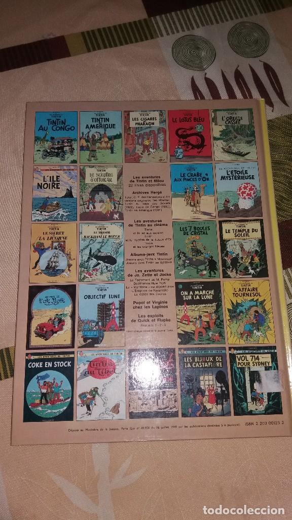Cómics: tintin et les picaros,casterman - hergé 1981.frances - Foto 2 - 148365252