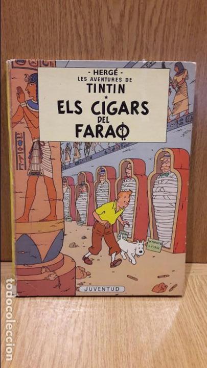 TINTIN. ELS CIGARS DEL FARAÓ. ED / JUVENTUD - 1979 ( QUARTA EDICIÓ ) - LEER (Tebeos y Comics - Juventud - Tintín)